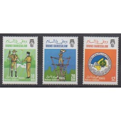 Brunei - 1985 - No 330/332 - Scoutisme