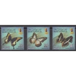 Brunei - 2013 - No 745/747 - Insectes