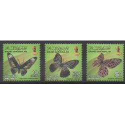 Brunei - 2012 - No 740/742 - Insectes
