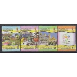 Brunei - 2014 - Nb 754/757 - Various Historics Themes