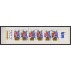 France - Carnets - 1992 - No BC2744A - Oblitéré