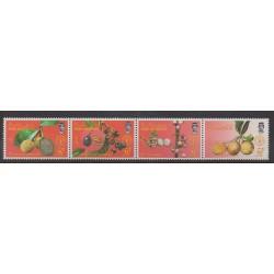Brunei - 1987 - No 375/378 - Fruits ou légumes
