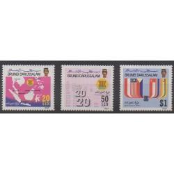 Brunei - 1987 - Nb 369/371