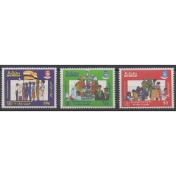 Brunei - 1985 - Nb 324/326 - Childhood