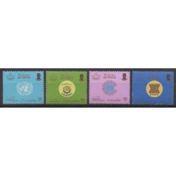 Brunei - 1985 - Nb 320/323