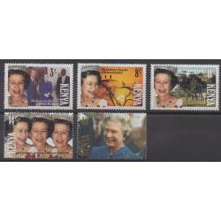Kenya - 1992 - Nb 537A/537E - Royalty