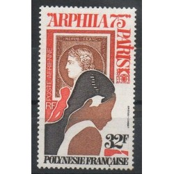 Polynésie - Poste aérienne - 1975 - No PA92 - Timbres sur timbres