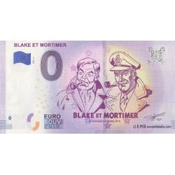 Euro banknote memory - Blake et Mortimer - 2018-5