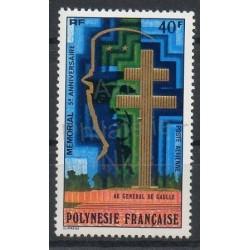 Polynésie - Poste aérienne - 1977 - No PA123 - de Gaulle