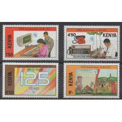 Kenya - 1990 - Nb 503/506 - Telecommunications