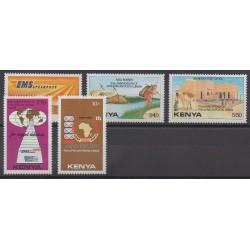 Kenya - 1990 - Nb 492/496 - Postal Service