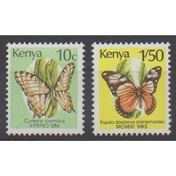 Kenya - 1990 - Nb 501/502 - Insects
