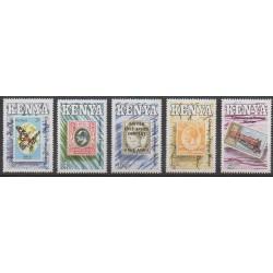 Kenya - 1990 - Nb 514/518 - Stamps on stamps