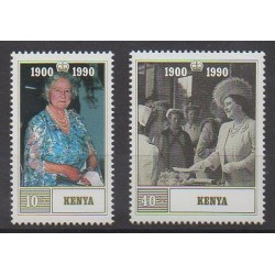Kenya - 1990 - Nb 519/520 - Royalty