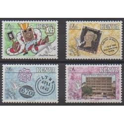 Kenya - 1990 - Nb 521/524 - Postal Service