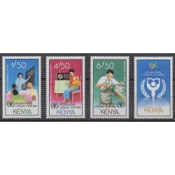 Kenya - 1990 - Nb 525/528 - Literature