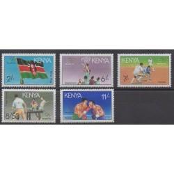 Kenya - 1991 - Nb 529/533 - Summer Olympics