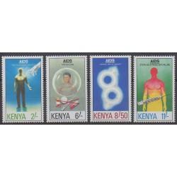 Kenya - 1991 - Nb 534/537 - Health