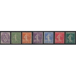 France - Poste - 1927 - No 233/239