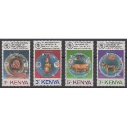 Kenya - 1985 - Nb 331/334 - Science