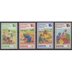Kenya - 1985 - Nb 335/338