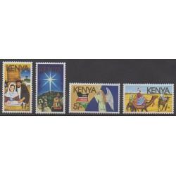 Kenya - 1986 - Nb 378/381 - Christmas