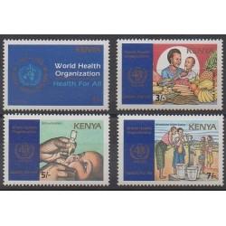 Kenya - 19888 - No 438/441 - Santé ou Croix-Rouge