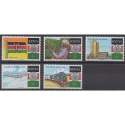 Kenya - 1988 - Nb 459/463 - Various Historics Themes