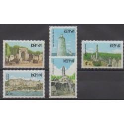 Kenya - 1989 - Nb 464/468 - Monuments