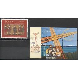 Islande - 2000- No 880 - BF 25 - Religion