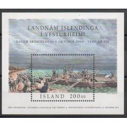 Islande - 2000- No BF 27 - Bateaux