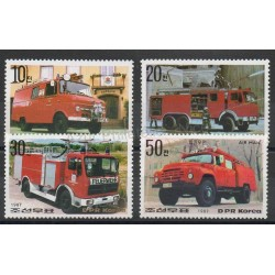 North Korea - 1987- Nb 1869/1871 - PA20 - Firemen