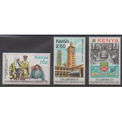Kenya - 1983 - Nb 272/274