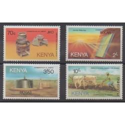 Kenya - 1985 - No 319/322 - Sciences et Techniques