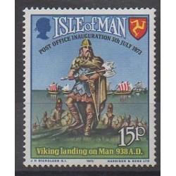 Man (Ile de) - 1973 - No 1 - Service postal