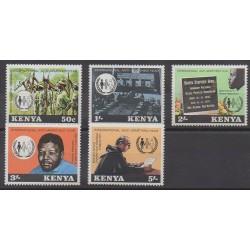 Kenya - 1978 - No 129/133 - Droits de l'Homme