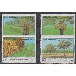 Bahrain - 1995 - Nb 541/544 - Trees