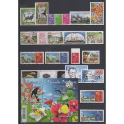 New Caledonia - Complete year - 2018 - Nb 1326/1351