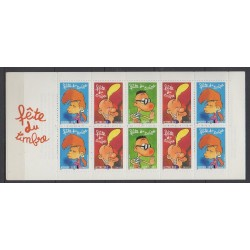 France - Booklets - Stamp day - 2005 - Nb BC3751a - Cartoons - Comics