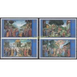 Vatican - 2000 - Nb 1216/1219 - Painting