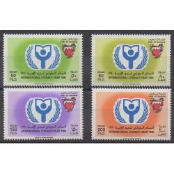 Bahrain - 1990 - Nb 408/411