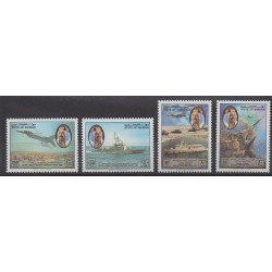 Bahrain - 1993 - Nb 469/472 - Military history