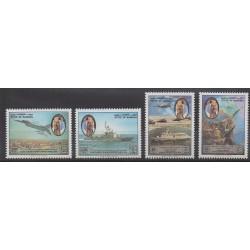 Bahrain - 1993 - Nb 469/472 - Military history