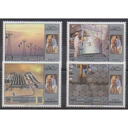 Bahrain - 1992 - Nb 465/468 - Science
