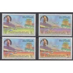 Bahrain - 1992 - Nb 457/460 - Planes