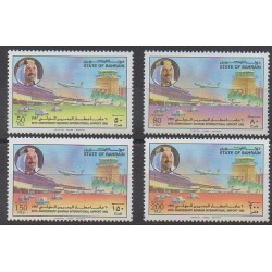 Bahreïn - 1992 - No 457/460 - Aviation