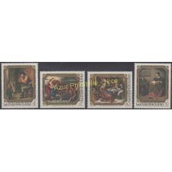 Luxembourg - 1984 - No 1050/1053 - Peinture