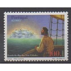 Portugal (Azores) - 1997 - Nb 456 - Literature - Europa