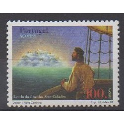 Portugal (Açores) - 1997 - No 456 - Littérature - Europa