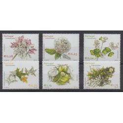 Portugal (Açores) - 2002 - No 474/479 - Fleurs